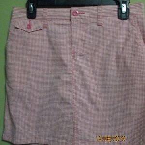 NEW POLO JEANS CO RALPH LAUREN MINI SKIRT SIZE 2